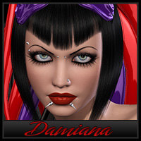 Damiana Themed Characters Countess