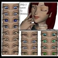 Aiko LE eye set by mininessie  mininessie