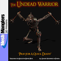 The Undead Warrior 3D Models keppel