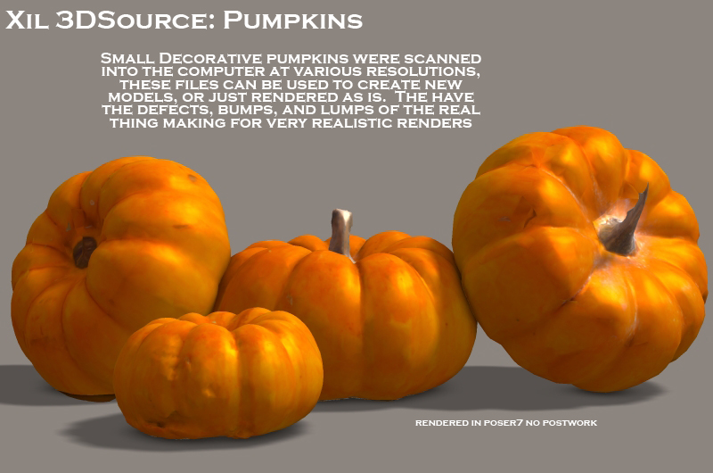xil 3D source Pumpkins