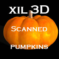 xil 3D source Pumpkins 3D Models xil