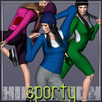 HIGHFASHION: Sporty for V4  outoftouch