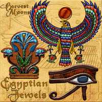"Harvest Moon's  ""Egyptian Jewels"" by MOONWOLFII"