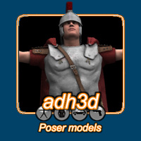 Roman Officer 3D Figure Essentials 3D Models adh3d