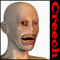 Oskarsson's Creech 3D Figure Essentials 3D Models Oskarsson