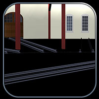 Roundhouse Train Station (Poser & OBJ & Vue) image 8