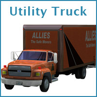 Utility Truck (Poser, OBJ & Vue) Themed Transportation Props/Scenes/Architecture RPublishing