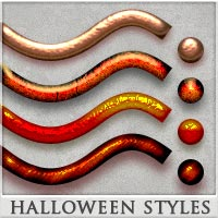 DW - Halloween Styles for Photoshop 2D 3D Models DreamWarrior
