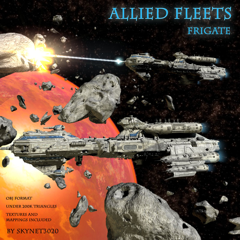 Allied Fleets Frigate
