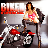 Biker Chick V4/A4 3D Figure Essentials scooby37