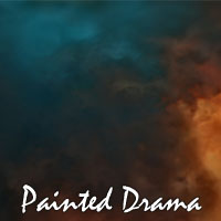 Painted Drama 3D Models 2D Graphics designfera