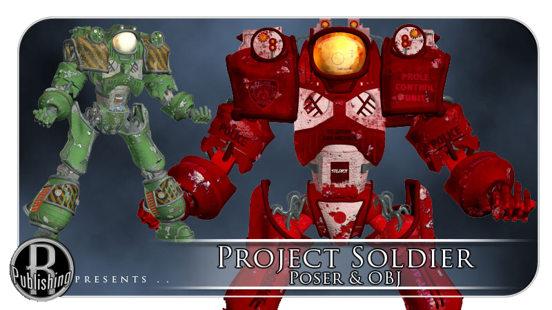 Project Soldier (Poser & OBJ) by RPublishing
