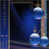 Christmas Backgrounds by Makena