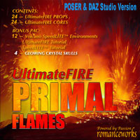 UltimateFIRE_PrimalFLAMES Software 2D 3D Models romanceworks