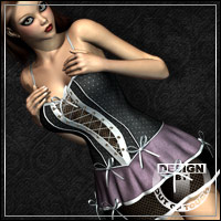 Bride of Darkness for V4E Dress Clothing outoftouch
