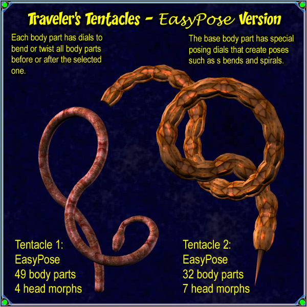 Traveler's Tentacles - EasyPose Version