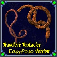 Traveler's Tentacles - EasyPose Version 3D Models Traveler