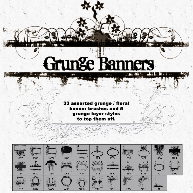 Banner Brushes by mystikel