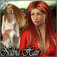 Nabia Hair 3D Figure Essentials Mairy
