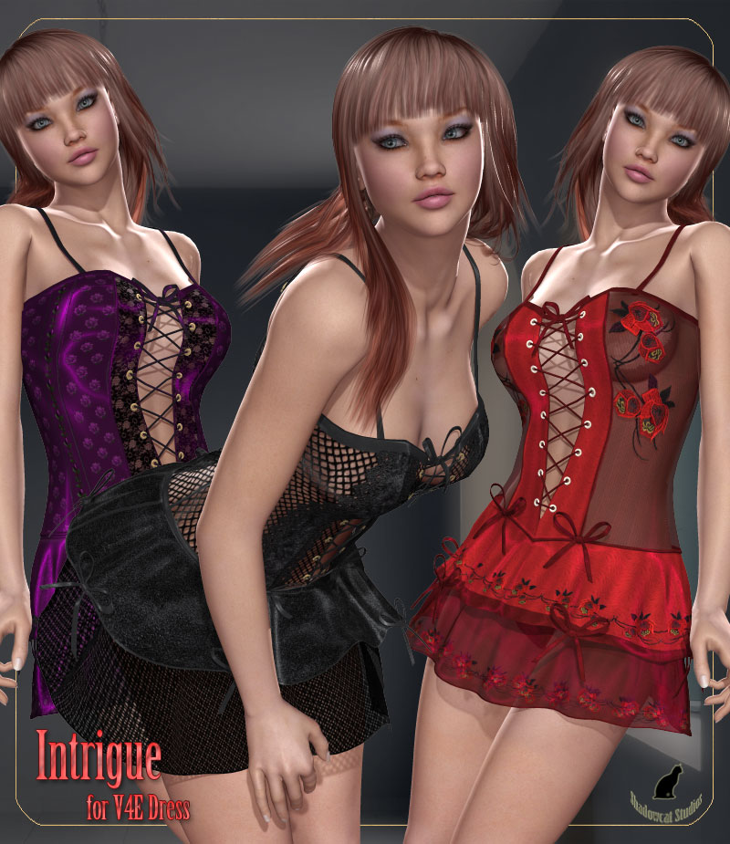 Intrigue for V4E Dress