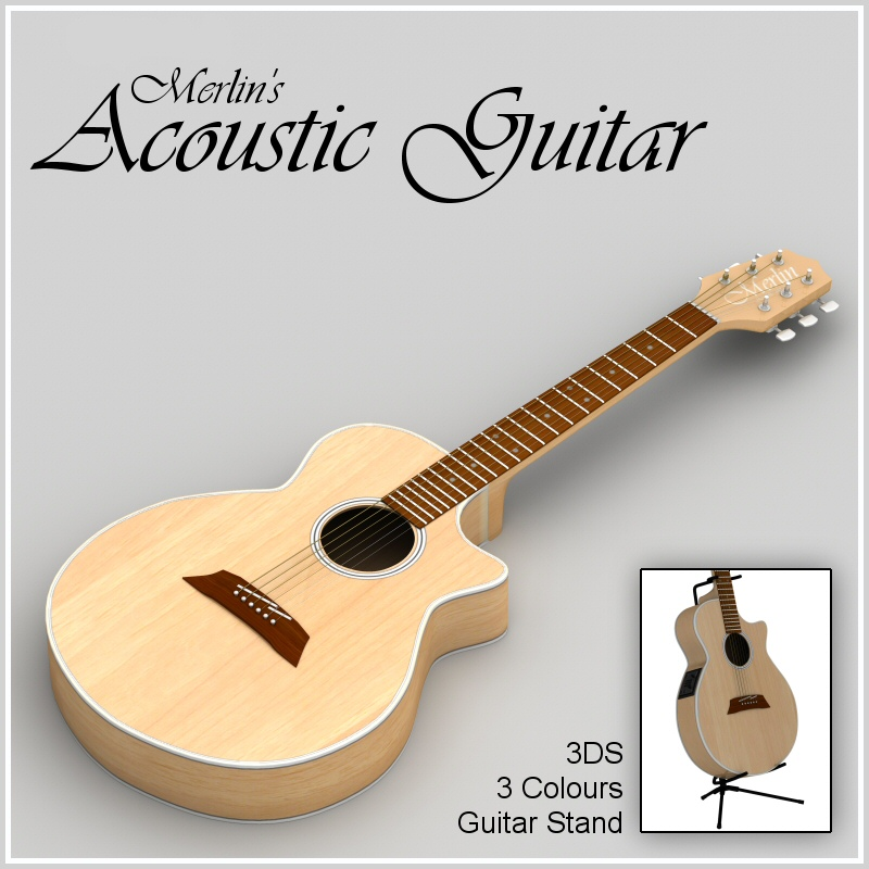 Merlin's Acoustic Guitar