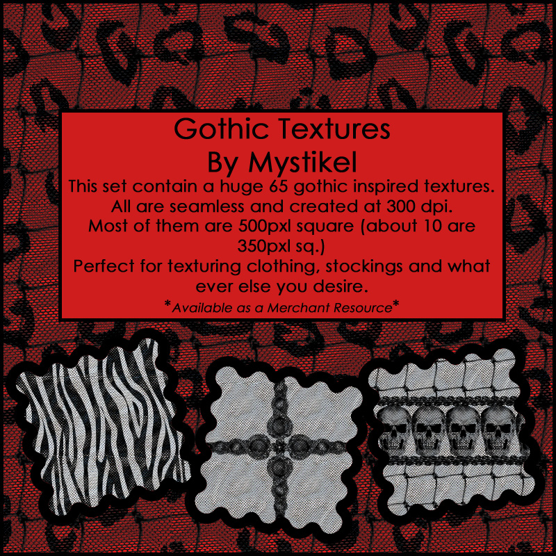 Gothic Textures *Merchant Resource*