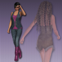 Walking V4 - 2 2D 3D Figure Essentials wenke