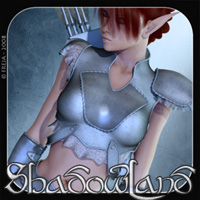 Shadowland - Golden Arrow 3D Figure Essentials Freja