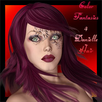 Color Fantasies For Danielle Hair  hotlilme74