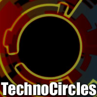 TechnoCircles Themed 2D And/Or Merchant Resources designfera