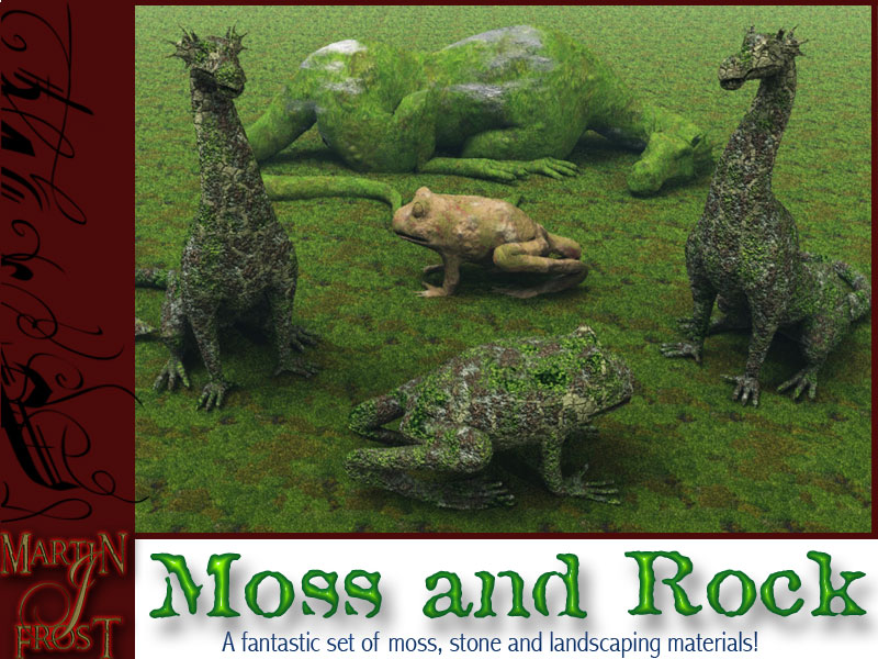 Moss and Rock Materials