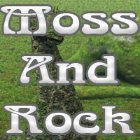 Moss and Rock Materials by martinjfrost