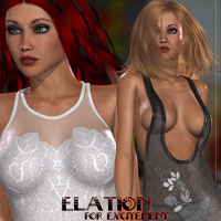 Elation for Excitement Clothing Themed kaleya