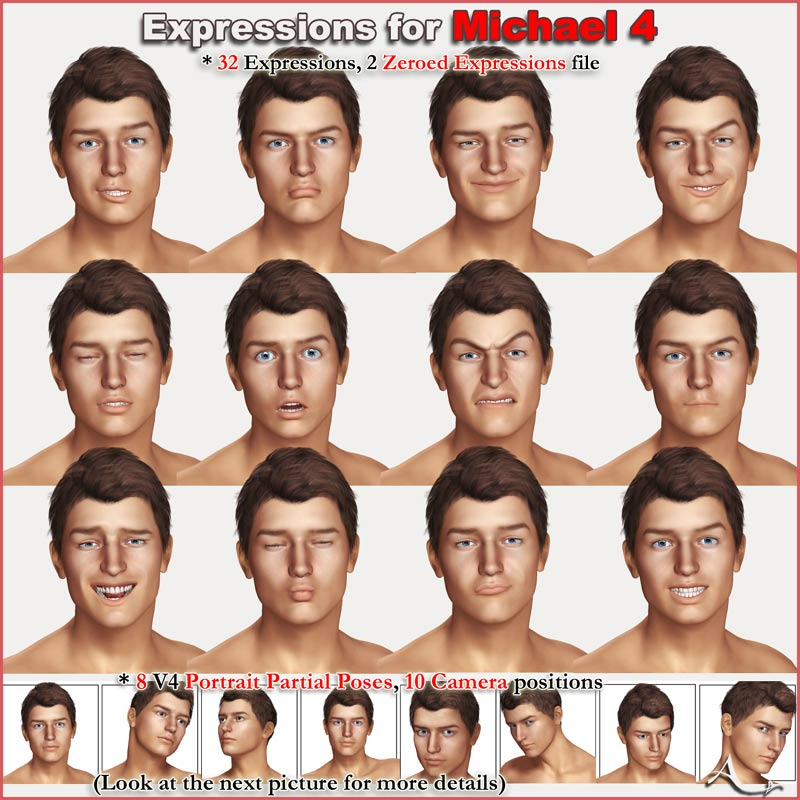 Expressions for Michael 4