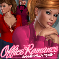 Office Romance for V4A4 OfficeSet 3D Figure Essentials ShanasSoulmate