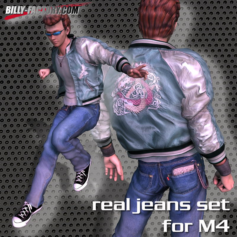 M4 Real Jeans Set