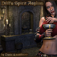 DM's Spirit Asylum  3D Models 3D Figure Essentials Danie