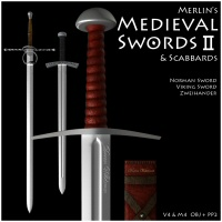 Merlin's Medieval Swords II 3D Models Merlin_Studios