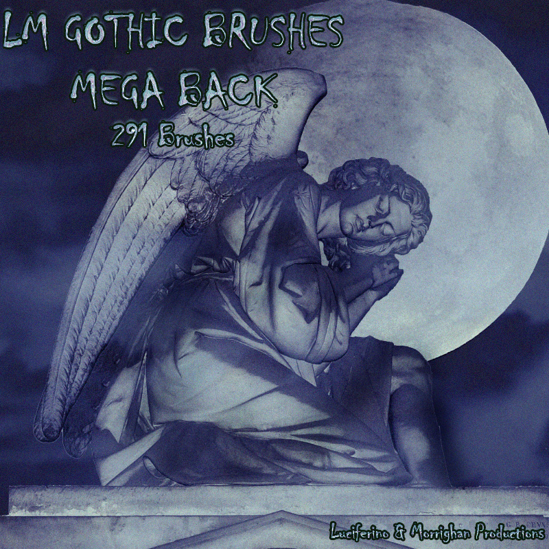 LM GOTHIC BRUSHES MEGA PACK
