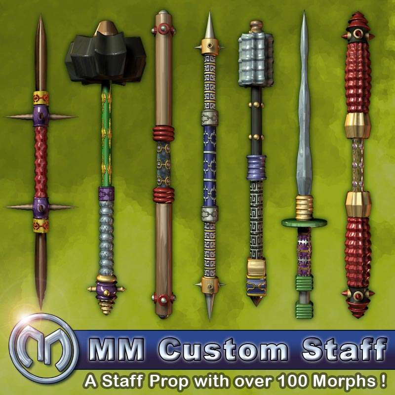 MM Custom Staff