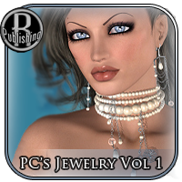 PC's Jewelry for V4 3D Figure Assets RPublishing