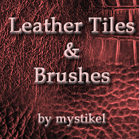 Leather Texture Set 2D Graphics mystikel