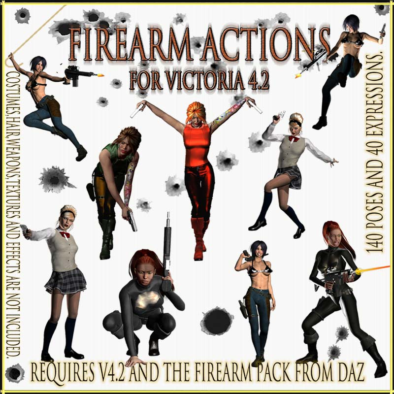 Firearm Actions for Victoria 4.2