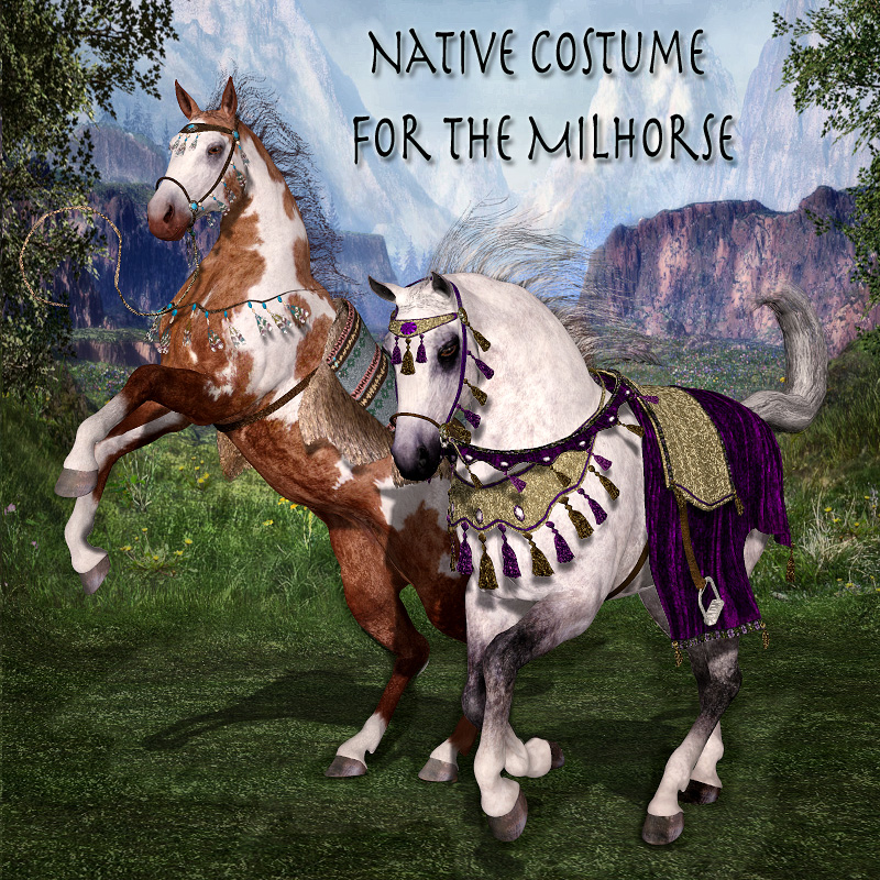 Native Costume for the MilHorse