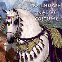 Native Costume for the MilHorse 3D Models 3D Figure Essentials Daio