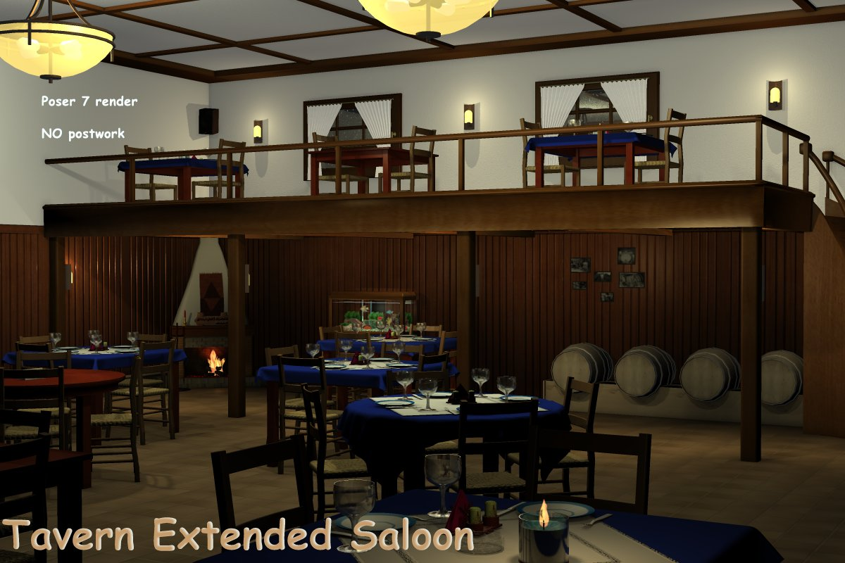 Tavern - Extended Saloon Full