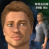 William for M4 3D Figure Essentials cole4965