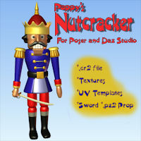 Nutcracker 3D Models pappy411
