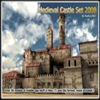 Medieval Castle Set 2008 3D Models 3D Figure Essentials rodluc2001