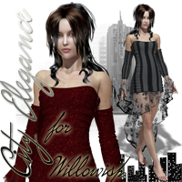 City Elegance for Willowisp 3D Figure Assets Phoenix1966